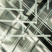 Abstrakte Gebäudetechnik